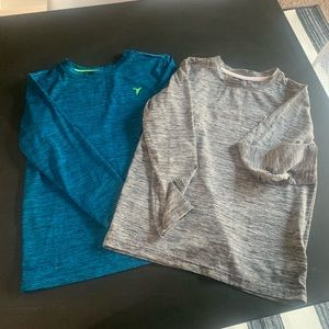 Old Navy boys dry-fit shirts. Two shirts.